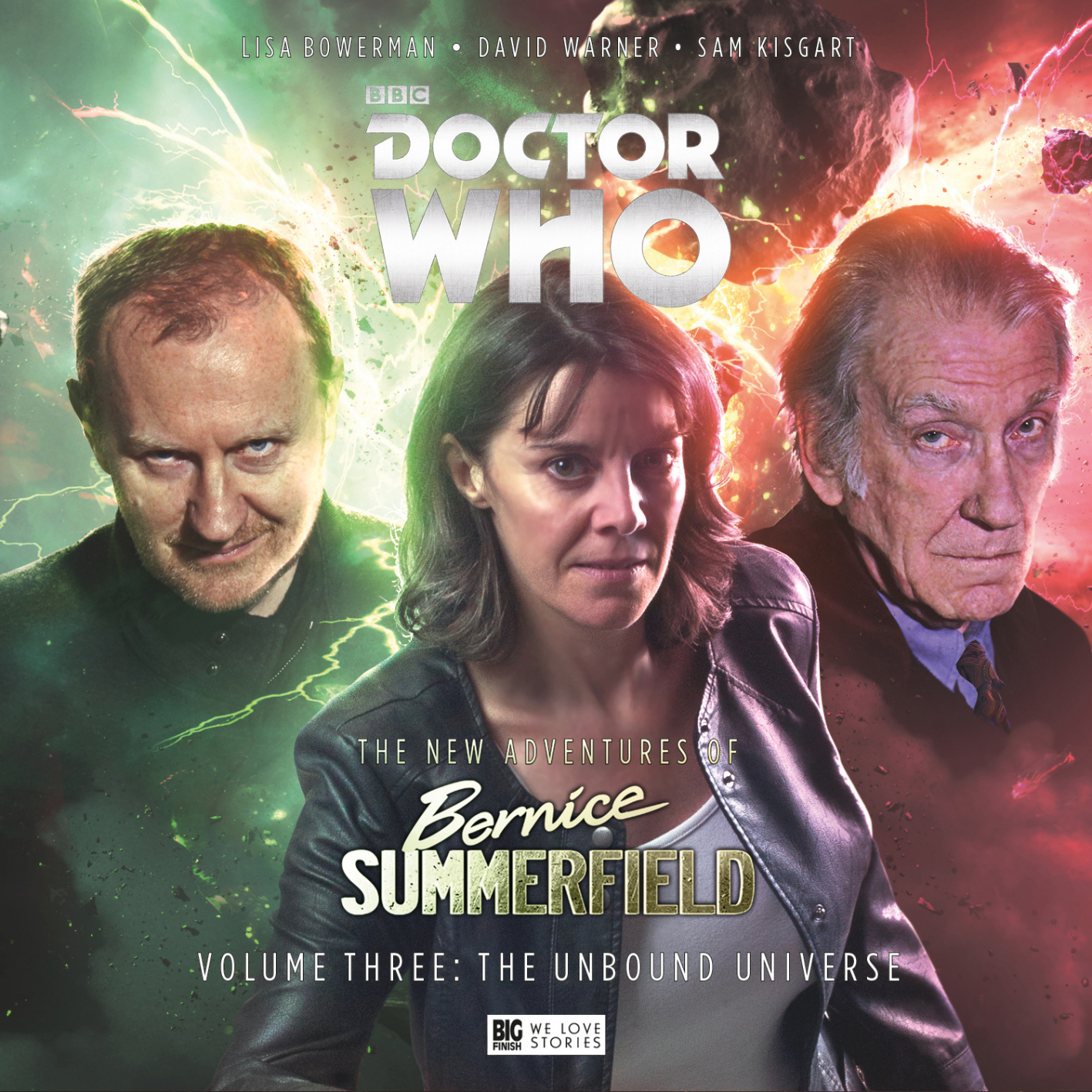 Review Bernice Summerfield Big Finish Audio New Adventures Vol 3 The Unbound Universe Sci Fi Bulletin Exploring Universes Of SF