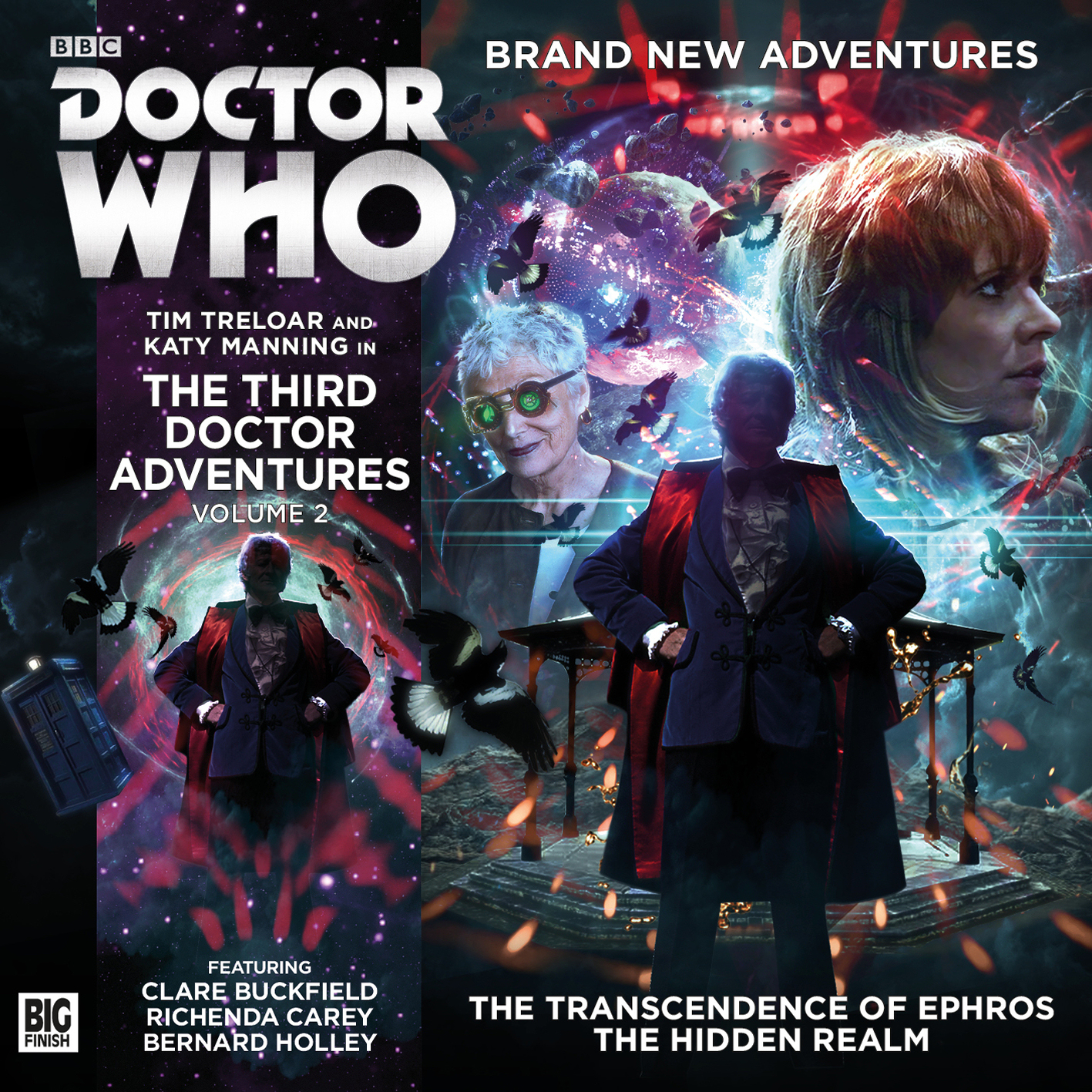 Review: Doctor Who: Big Finish: 3rd Doctor Adventures 22: The Hidden Realm  €� Scifi Bulletin: Exploring The Universes Of Sf, Fantasy & Horror!