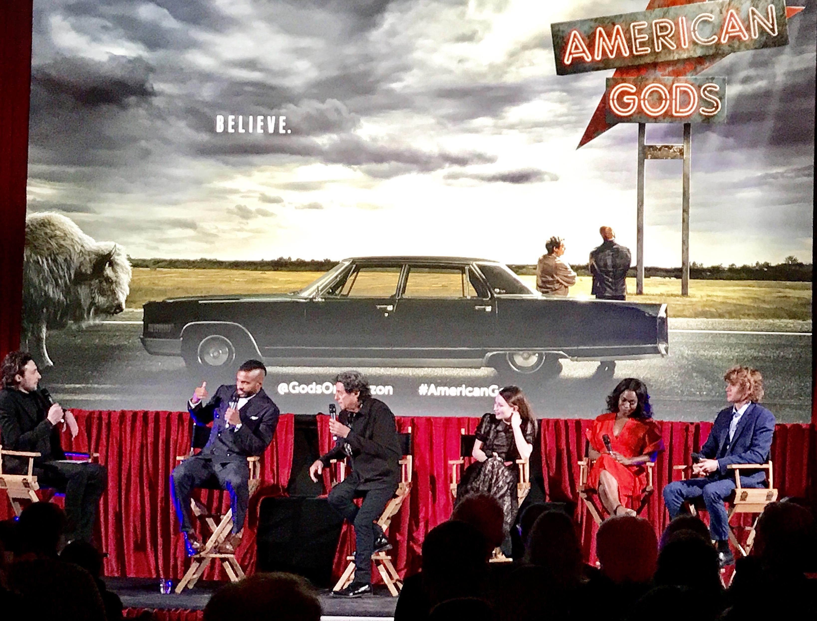 American Gods' European Premiere, London €� Scifi Bulletin: Exploring The  Universes Of Sf, Fantasy & Horror!