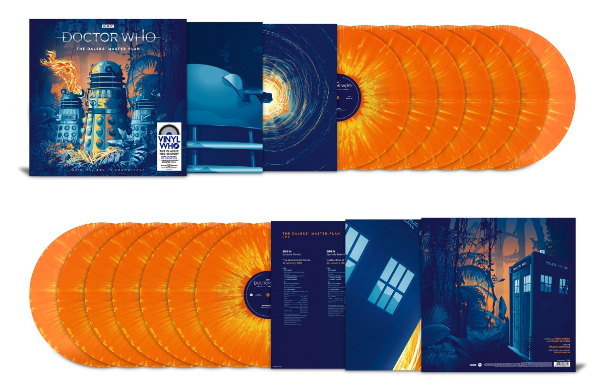Review Doctor Who Vinyl Who The Daleks Master Plan Sci Fi Bulletin Exploring The Universes Of Sf Fantasy Horror